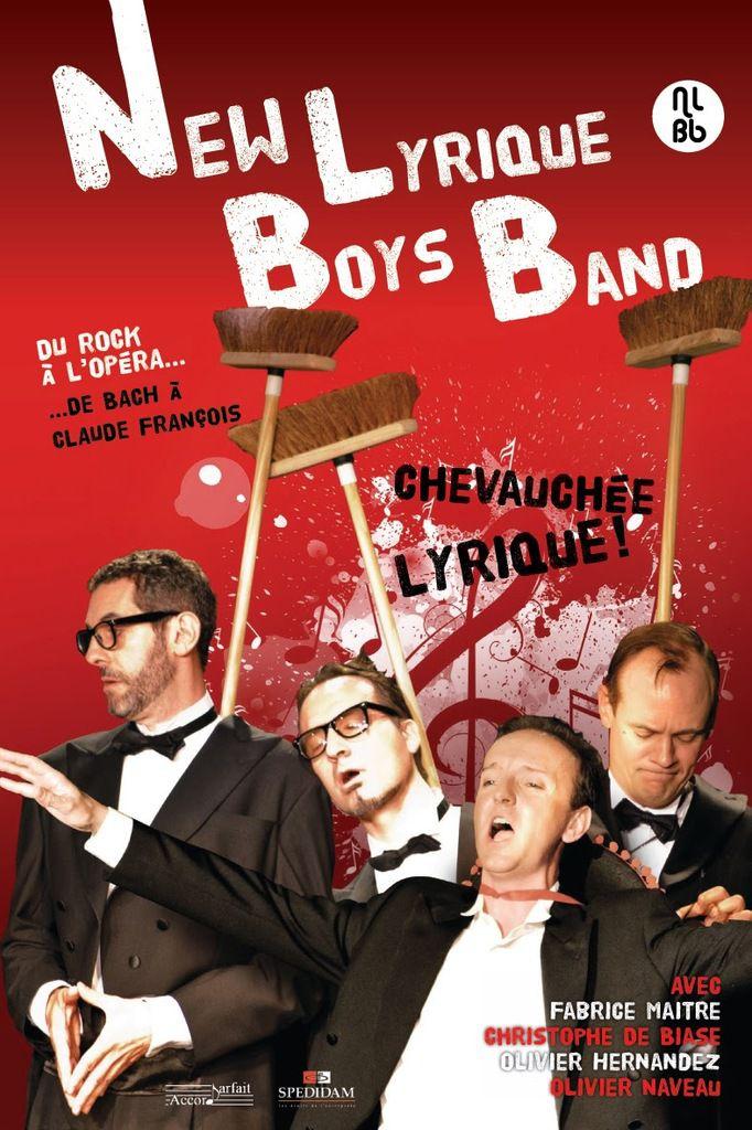 Le New Lyrique Boys Band - NLBB - Chevauchée Lyrique! - Compagnie Accord Parfait