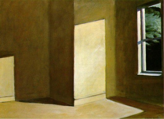 (Empty room by Edward Hopper)