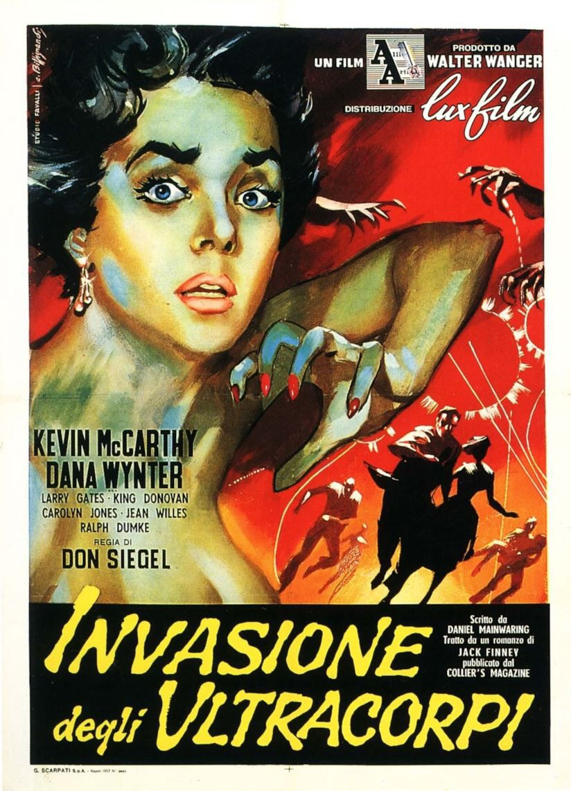 L'invasione degli ultracorpi (The Body Snatchers, 1954) - locandina originale