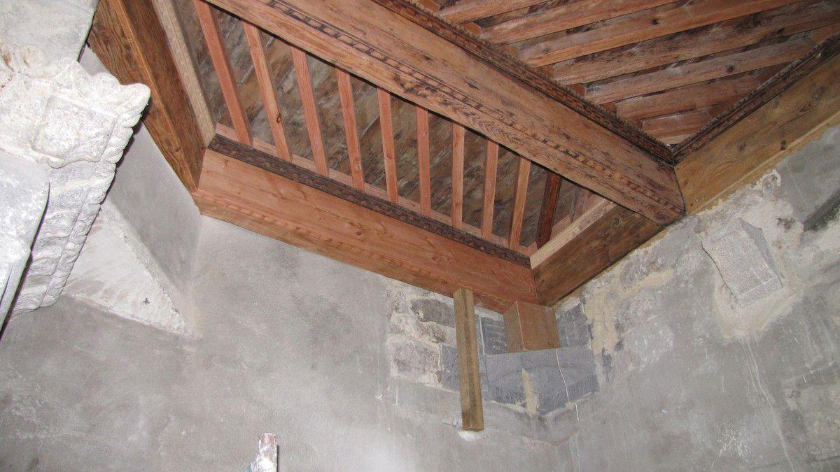 Plafonds et planchers, suite...