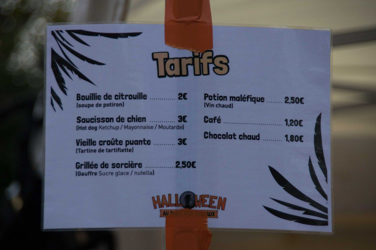 Repas des sorcières !!