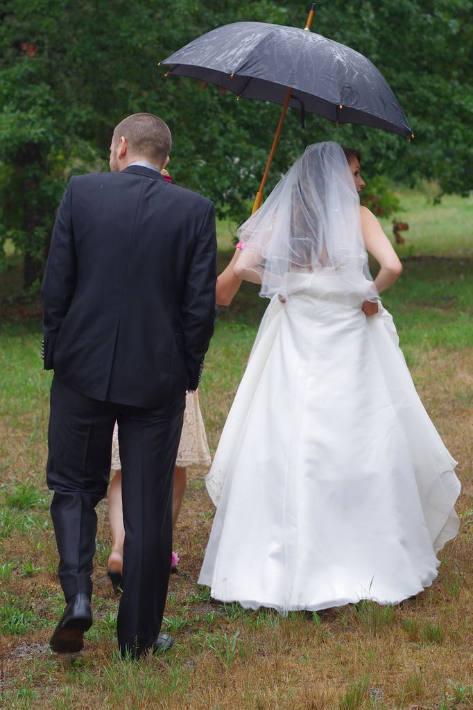La mariée aux souliers roses