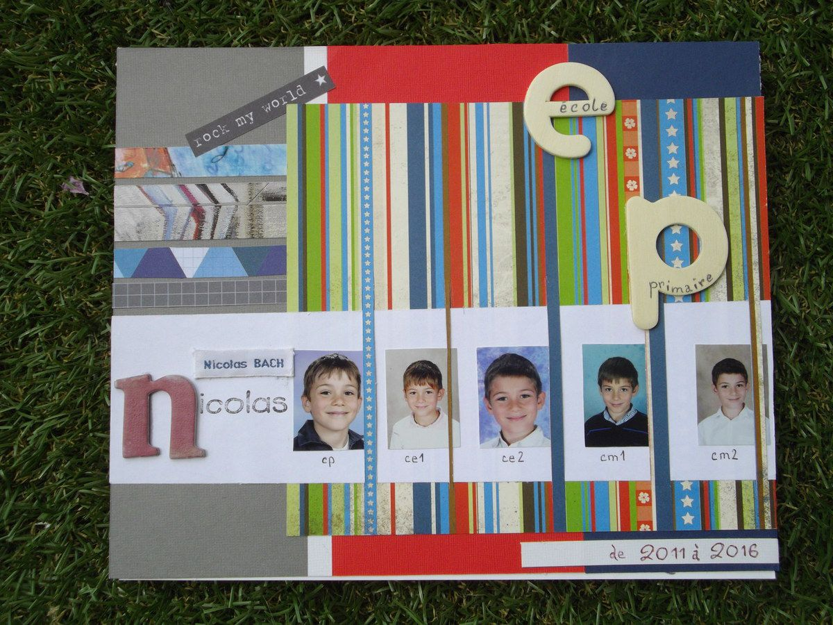 Album photos d'école #3