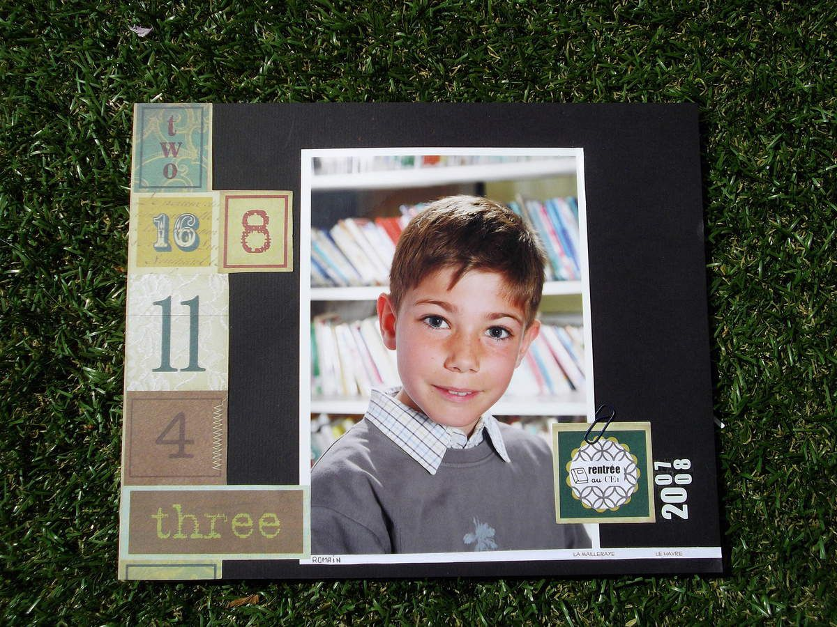 Album photos d'école #1