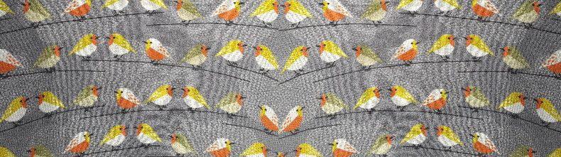 Tunique aux oiseaux pour le printemps