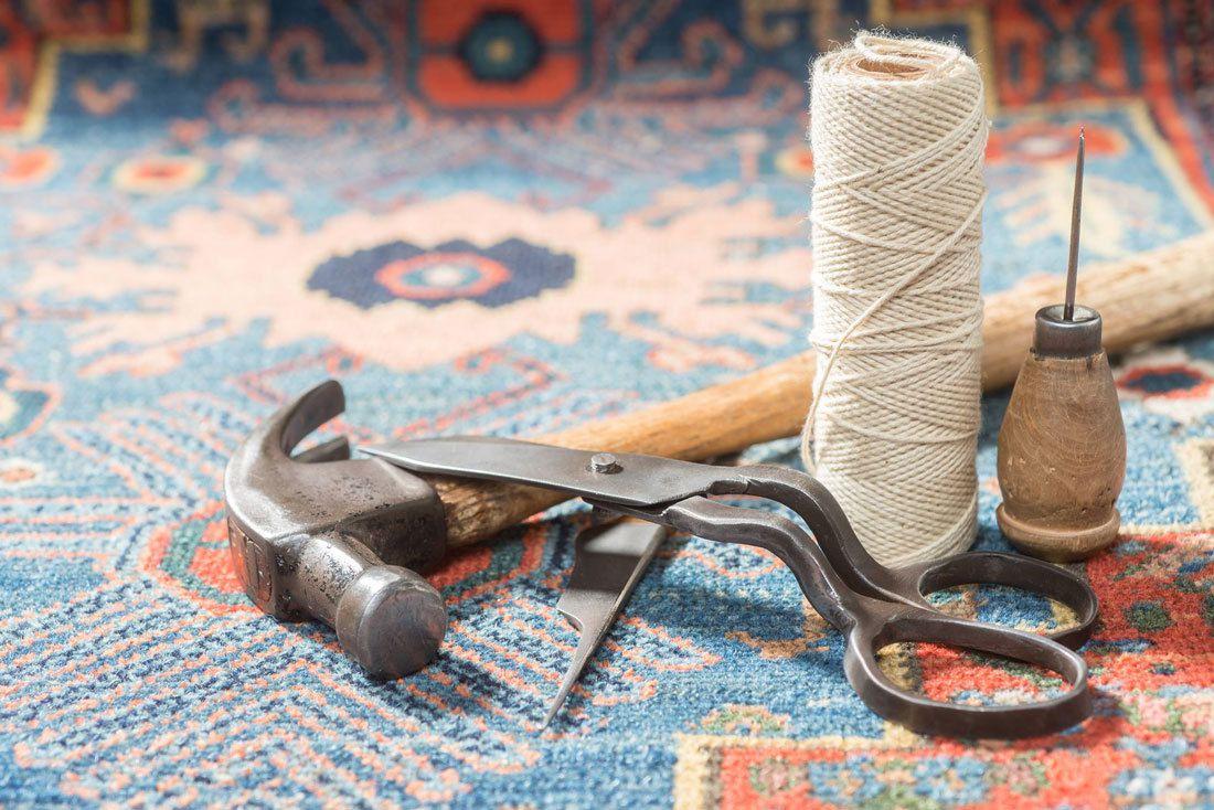 Réparation et restauration de tapis d'Orient Le Cannet | Cannes | Mougins | Opio