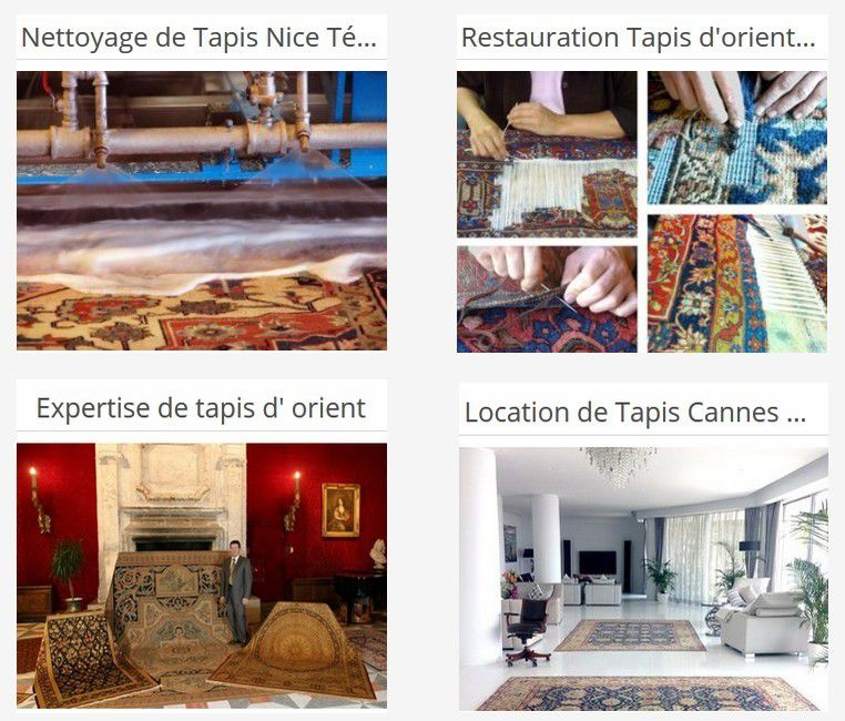 Cleaning, Repairing & Restoration of Oriental Carpets in Monaco