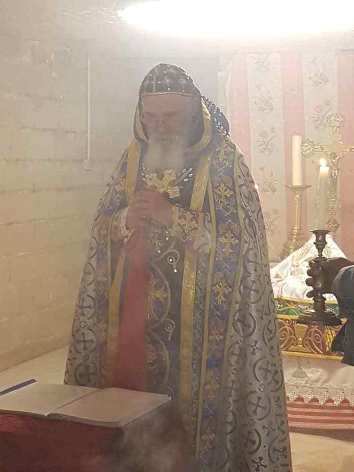 Souvenirs photographiques de la Messe du Vendredi 17, Messe de l'aumônerie Syro-Orthodoxe des Africains vivant en région de Chartres.