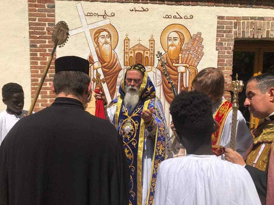 En ce 22 (Ste Marie Madeleine), souvenirs du Dimanche 21 Juillet 2019 au Monastère (6ème Dim après Pentecôte/ St Christophe)