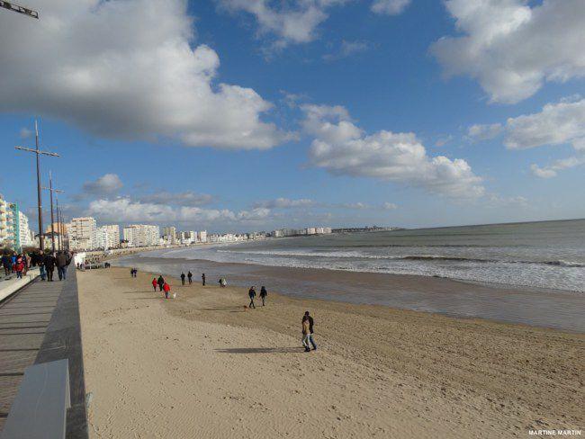 Promenade de février au remblai des sables