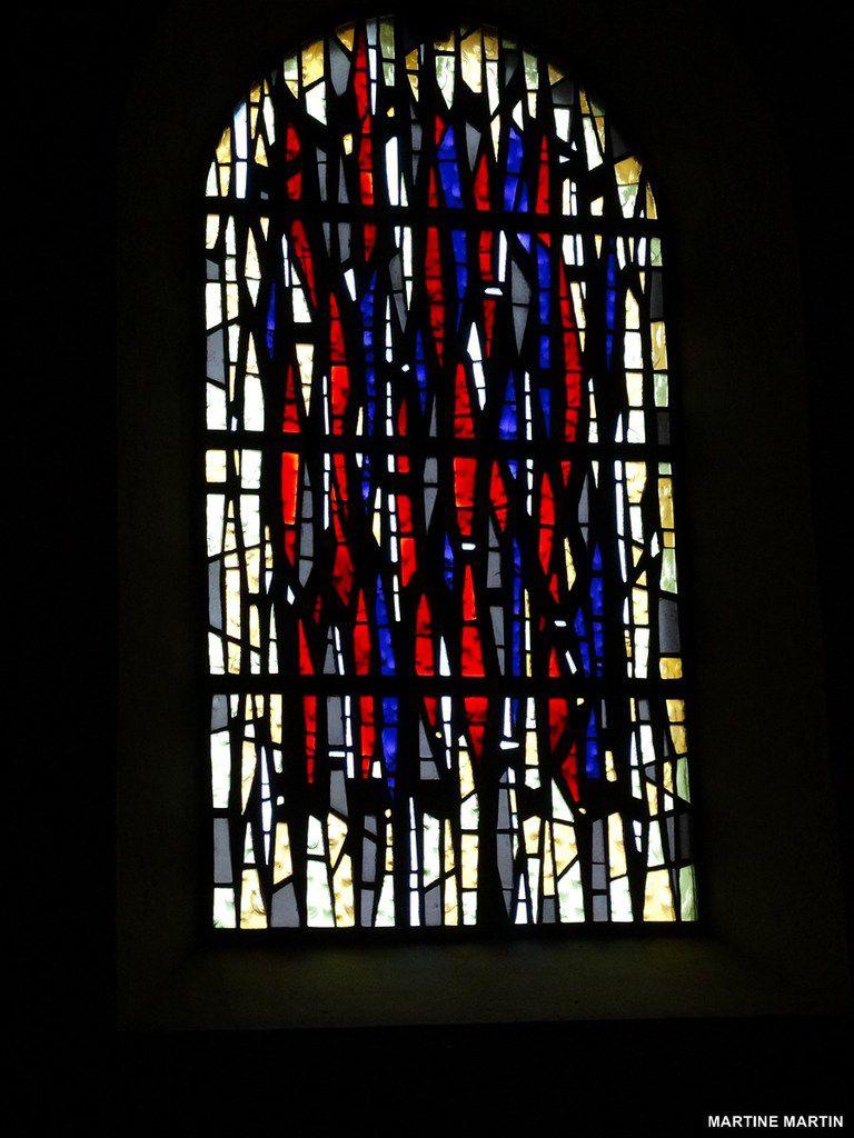 Vitraux de l'église Saint Hilaire du Château d'Olonne