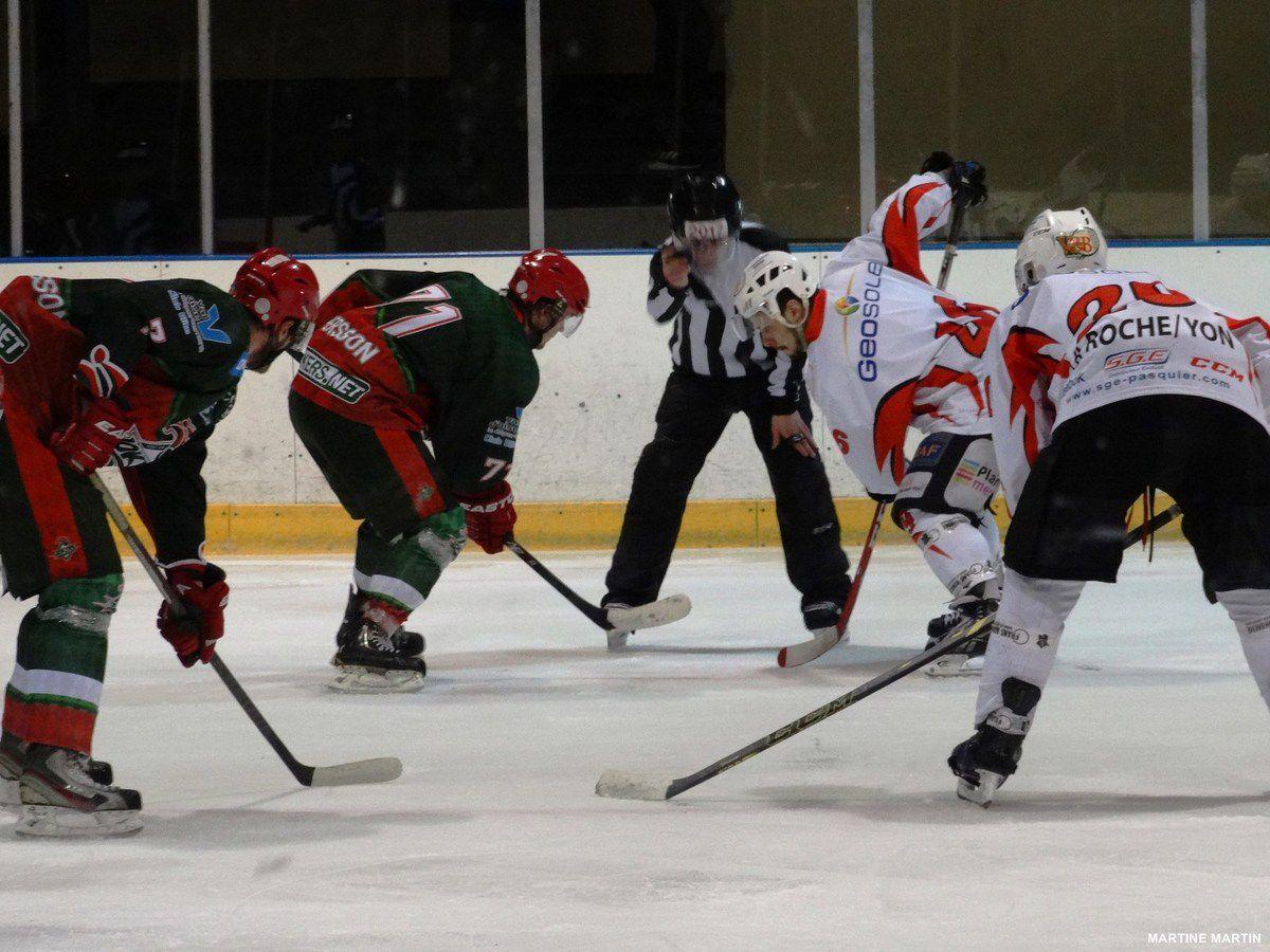 Hockey sur glace : Victoire de la Roche sur Yon sur Cergy