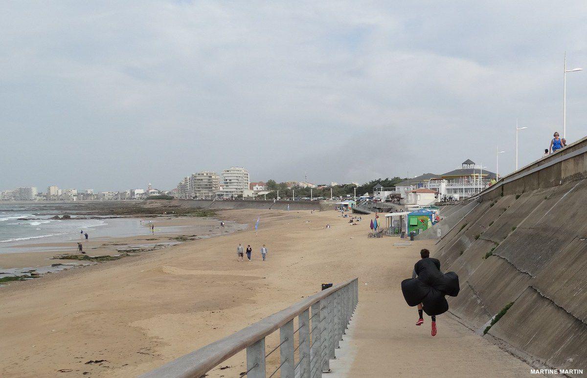 Dernier dimanche de Septembre sur la plage du Tanchet