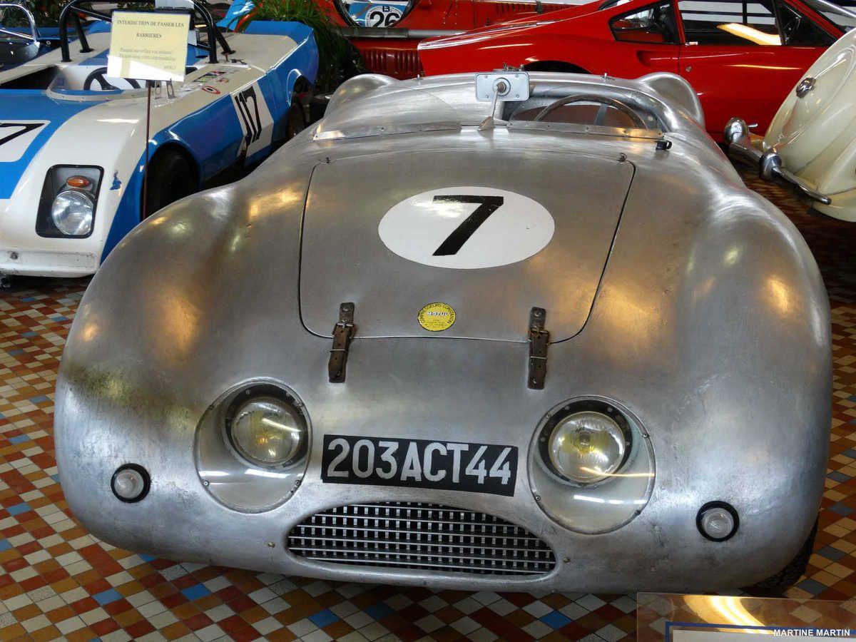 Musée de l'automobile de Vendée : les voitures de course et prototypes