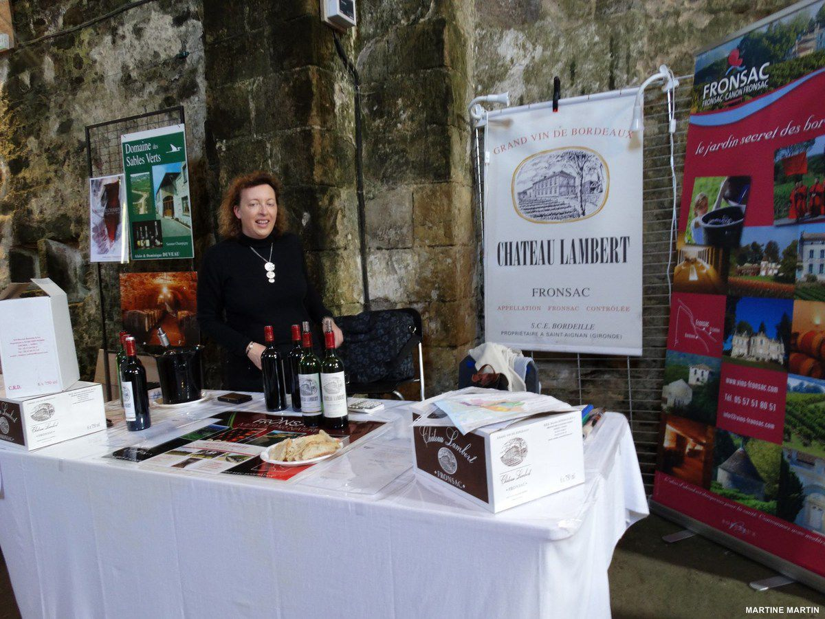 Photos du salon du vin 2014 du Château d'Olonne