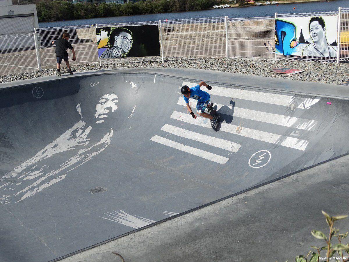 Le skate Park du Tanchet / Les Sables d'Olonne