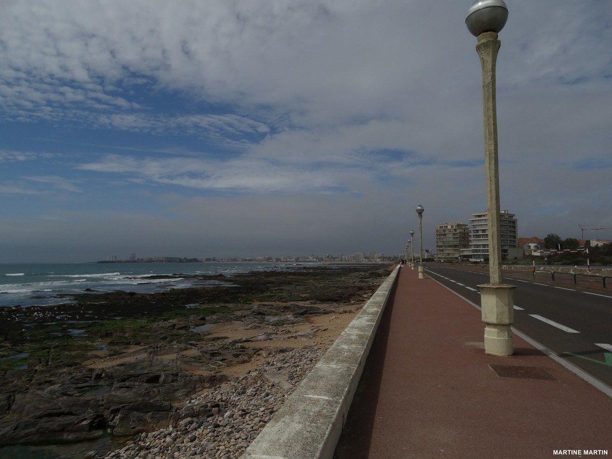 Joies de la marée basse aux Sables d'Olonne