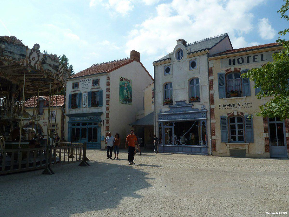 Le village du Puy du Fou