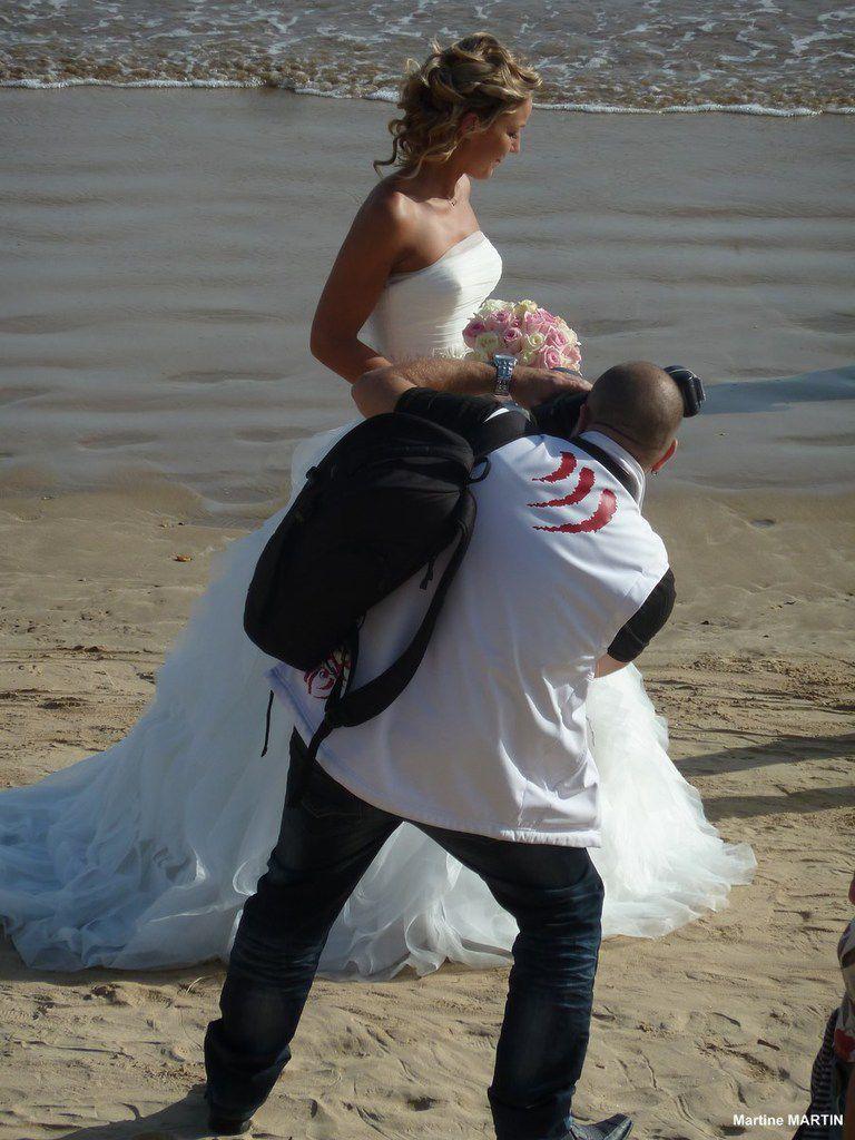 Photo de mariage aux Sables d'Olonne