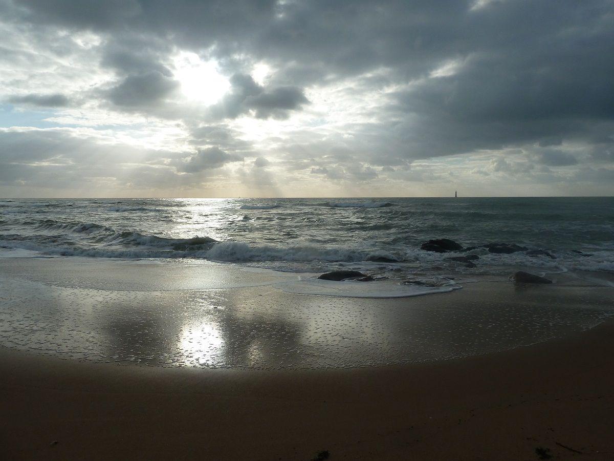 Fin d'après-midi d'hiver à Olonne sur mer