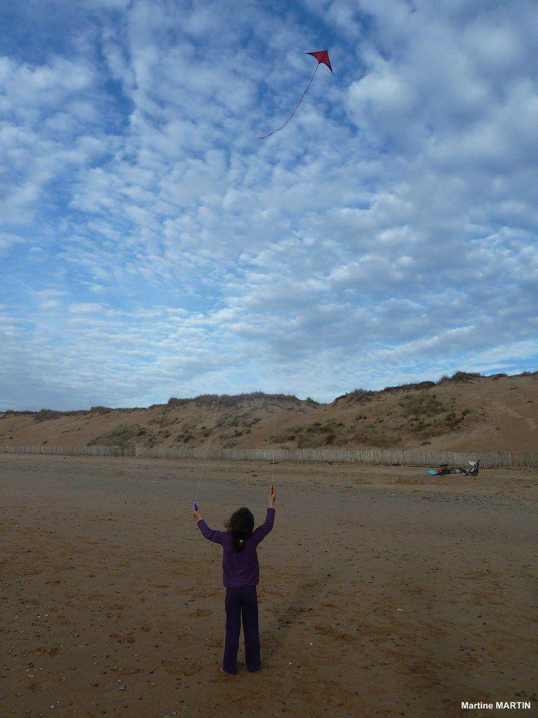 Initiation au Cerf volant sur la plage de Sauveterre