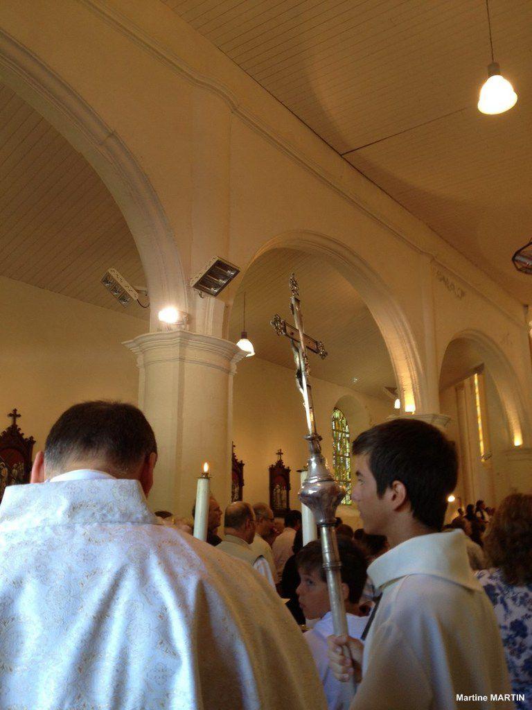 Messe du 15 août en l'église Saint-Hilaire du château d'olonne