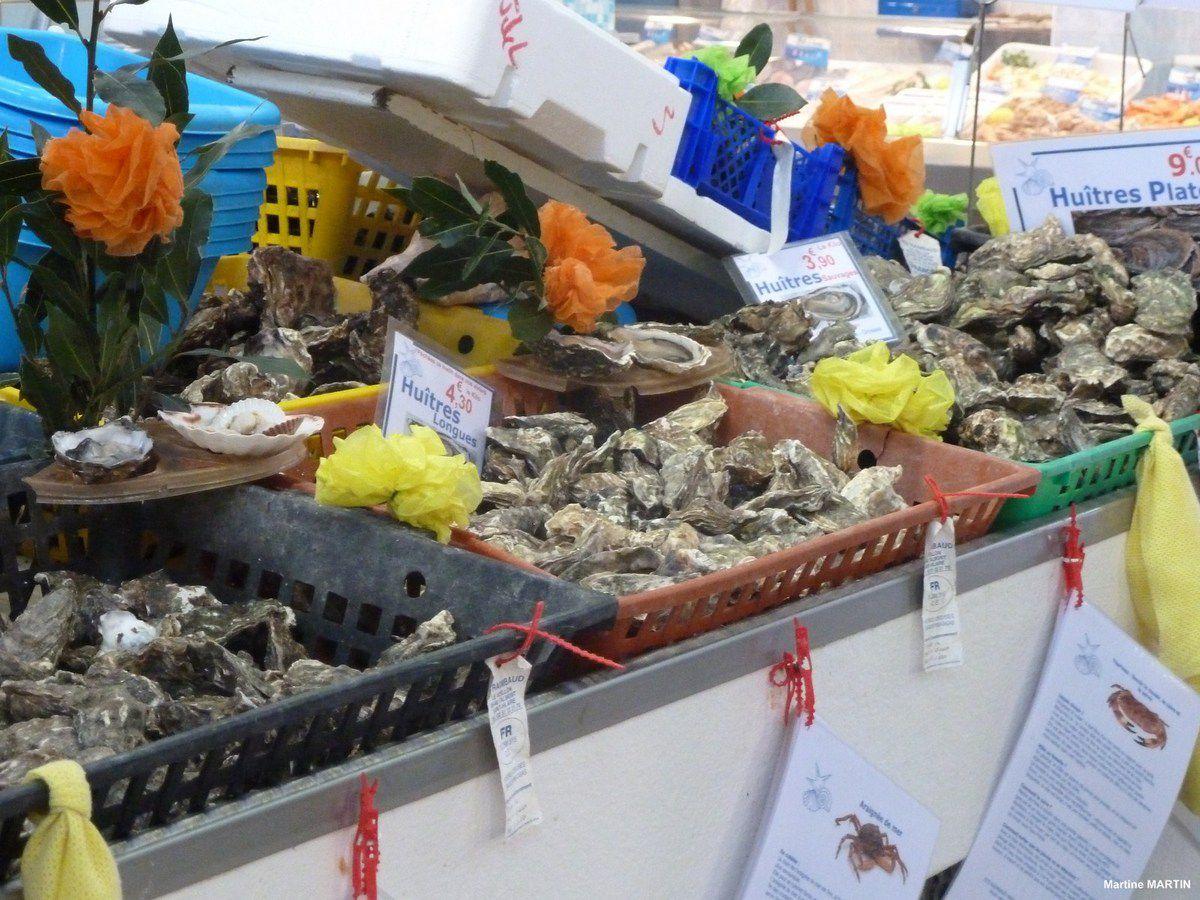 Le marché Arago des Sables d'Olonne