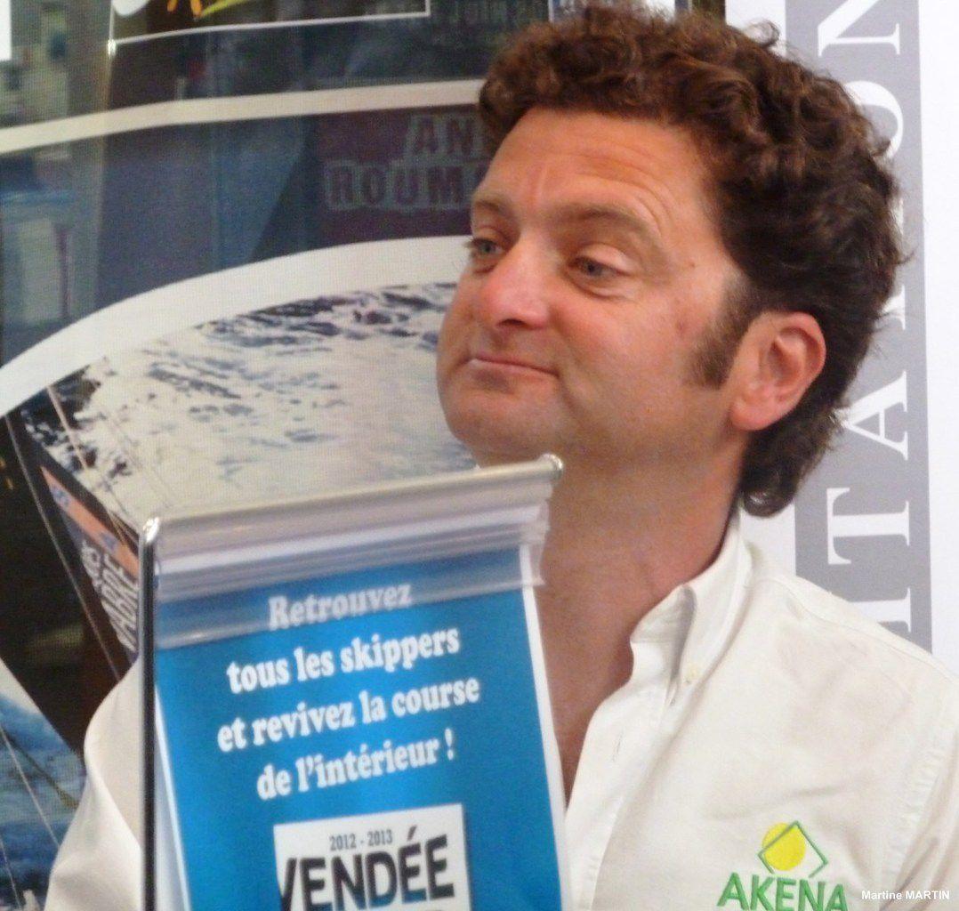 La remise du trophée du Vendée globe 2013