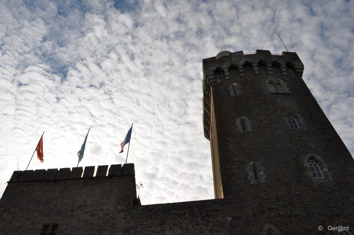 Le château de la chaume aux Sables d'Olonne