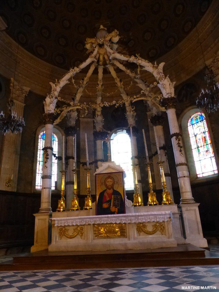 L'église Saint Louis de la Roche sur Yon (2)