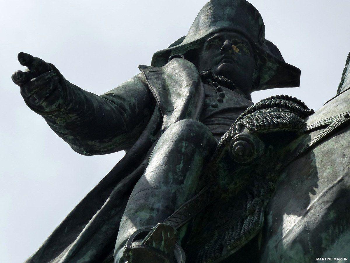 La statue de Napoléon à La Roche sur Yon