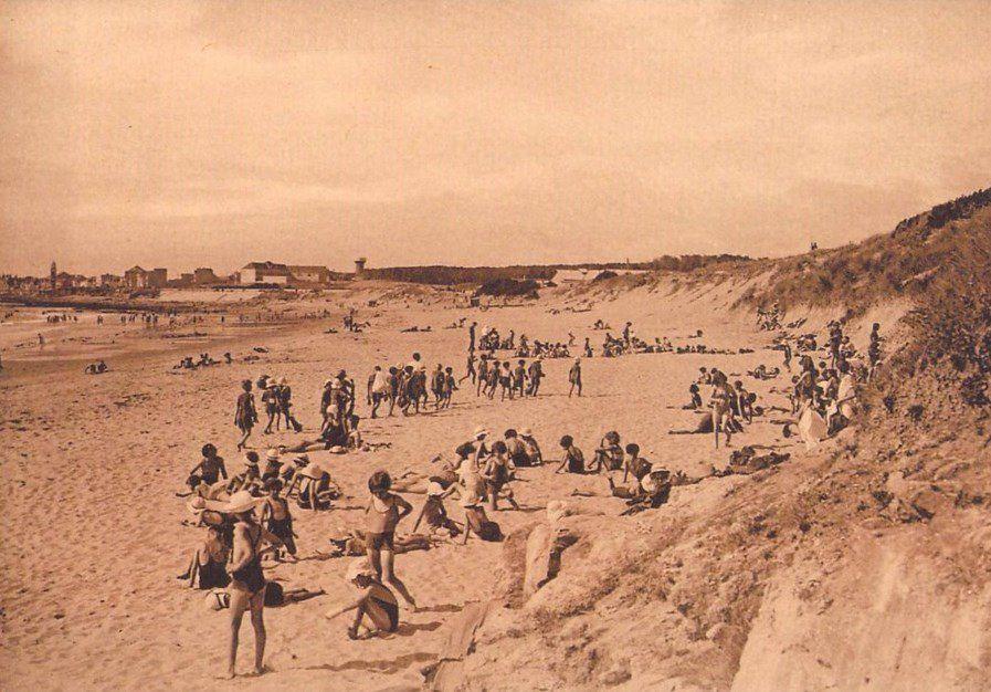 L'histoire de la plage du Tanchet