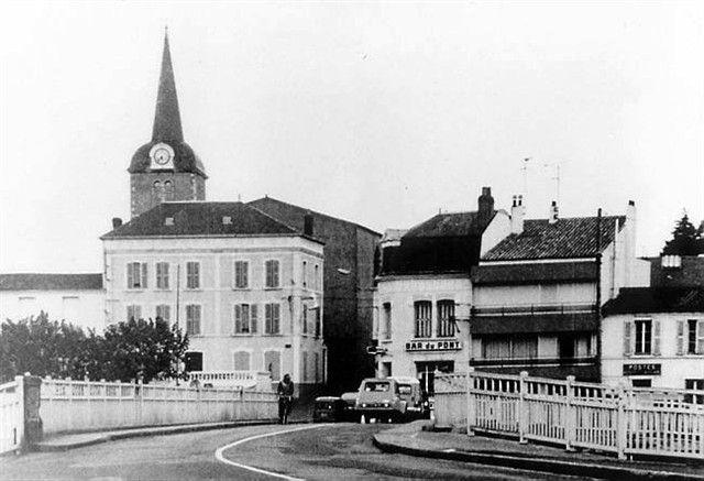 Autrefois le pont du chenal des Sables d'Olonne