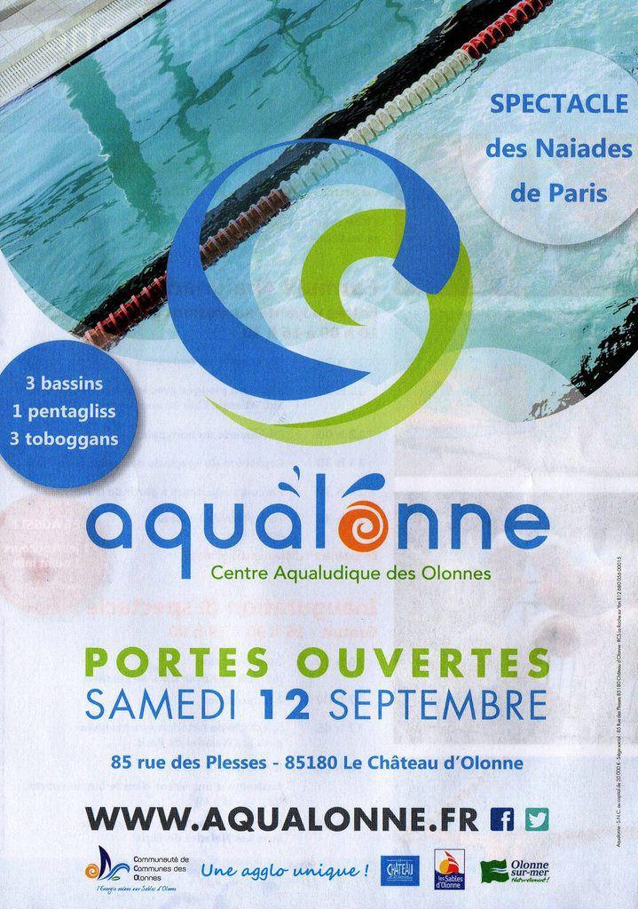 Portes ouvertes au Centre aquatique AQUALONNE du château d'olonne