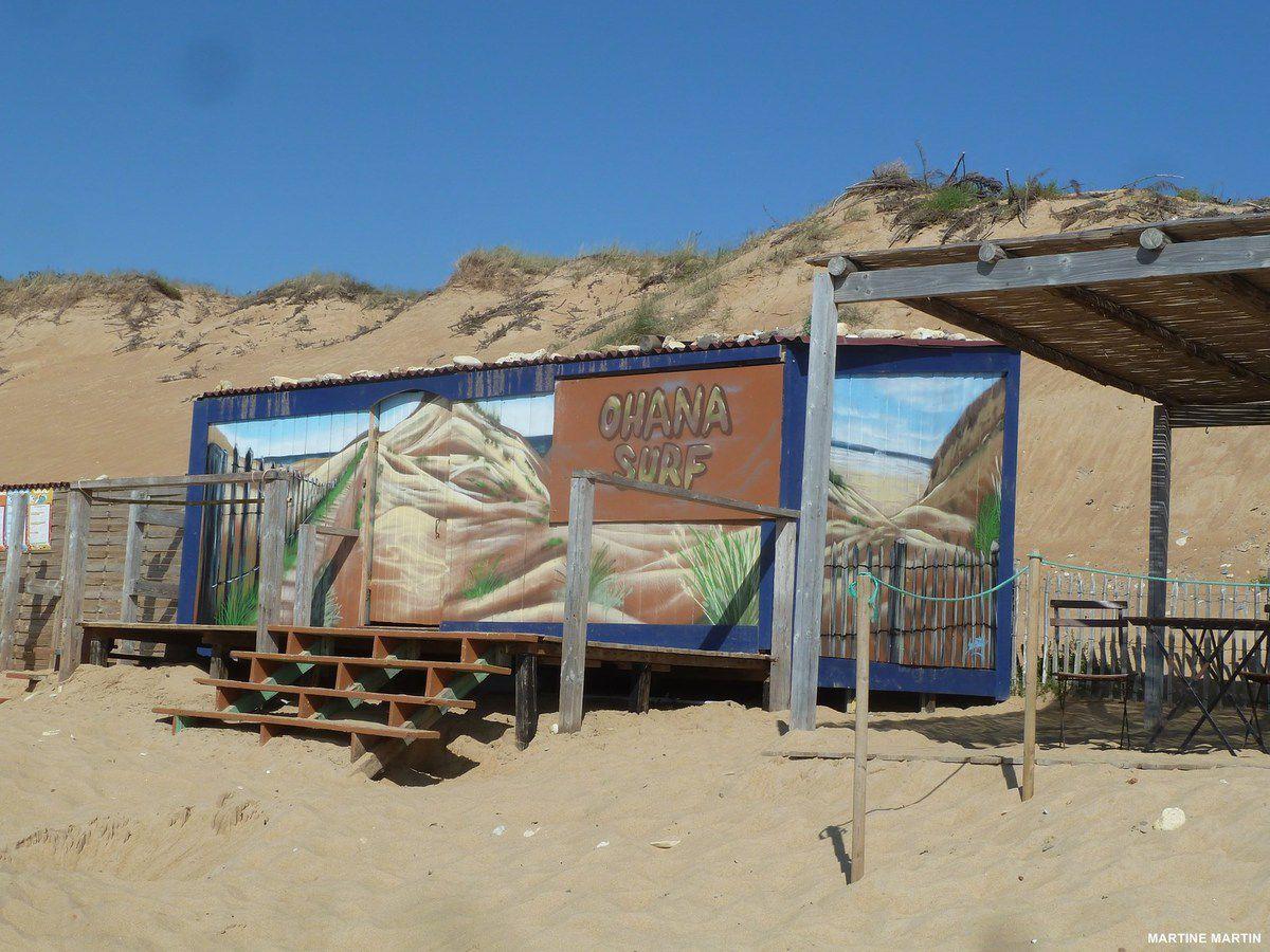 Saison d'été terminée pour la plage de Sauveterre d'Olonne