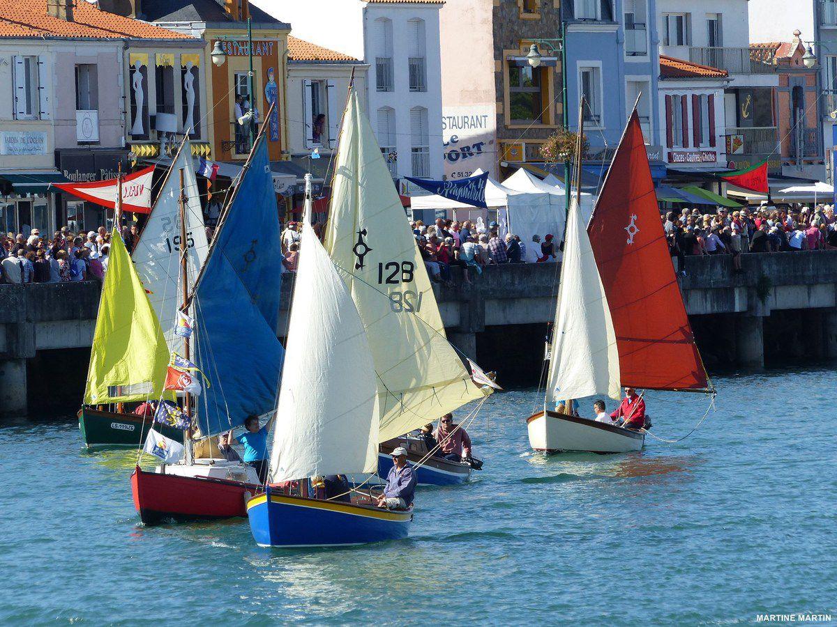 La grande bordée des Sables 2015 : Défilé nautique