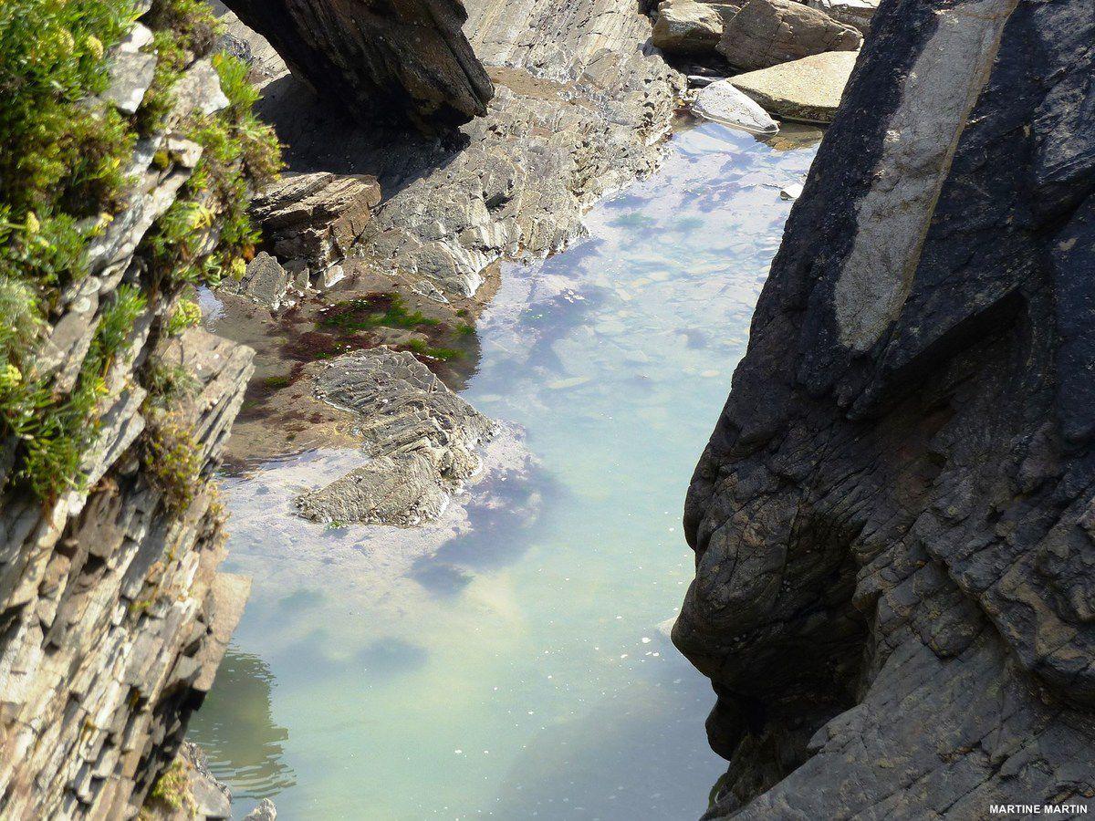 Promenade côtière de septembre à Talmont Saint Hilaire