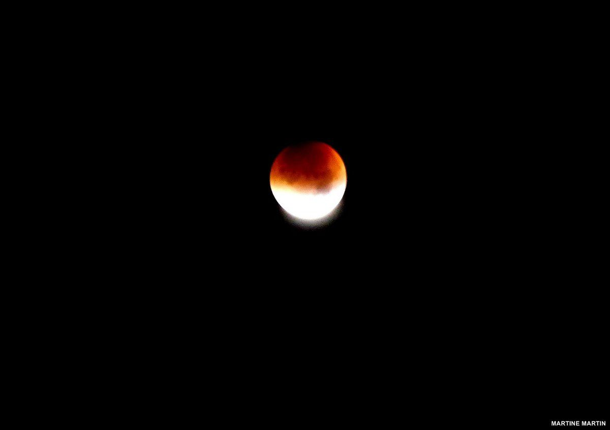 Eclipse de lune du 28 Septembre 2015