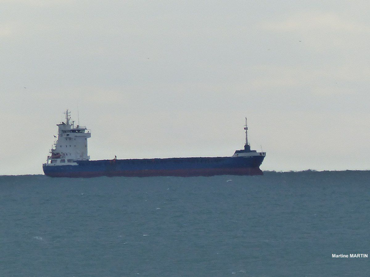 Cargo Ulrike G aux Sables d'Olonne