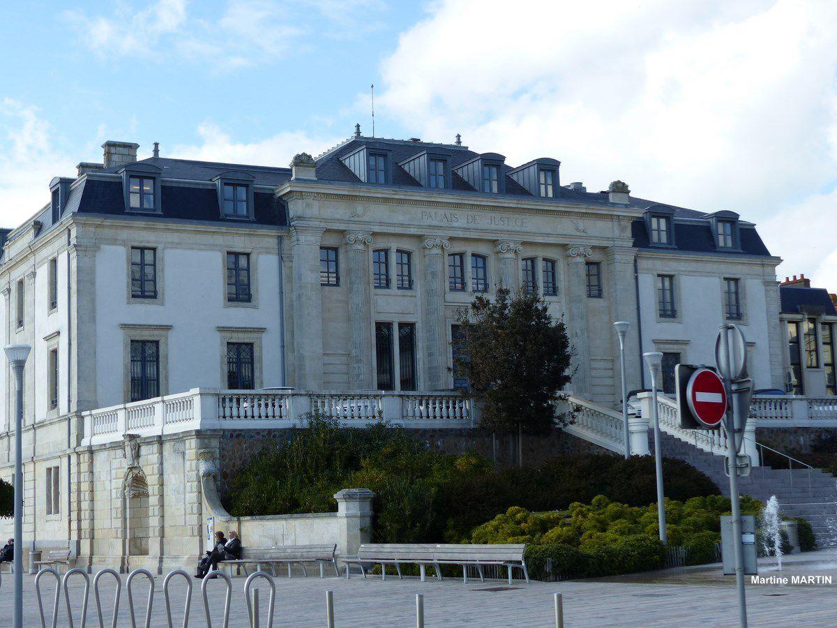 Le palais de Justice aujourd'hui