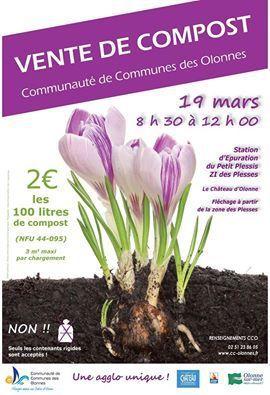 Vente de compost par la communauté de communes des Olonnes