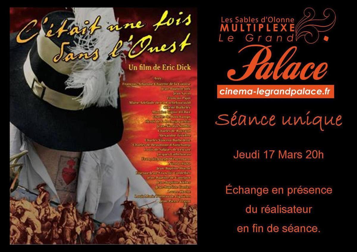 Cinéma Sables d'Olonne : C'était une fois dans l'Ouest