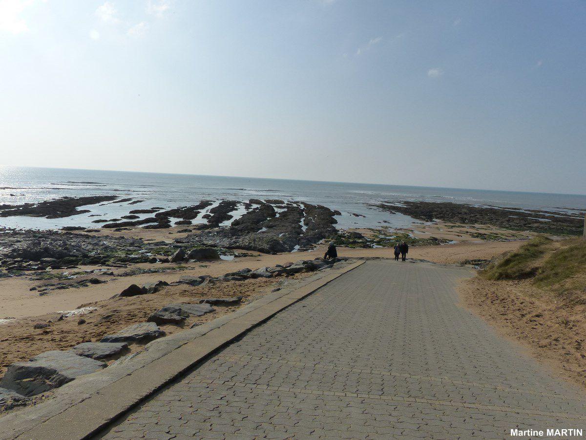 Promenade entre la Chaume et Sauveterre à Olonne sur Mer