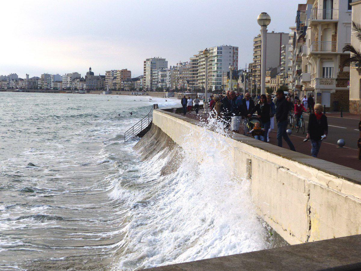 Grandes marées de Septembre 2016 aux Sables d'Olonne