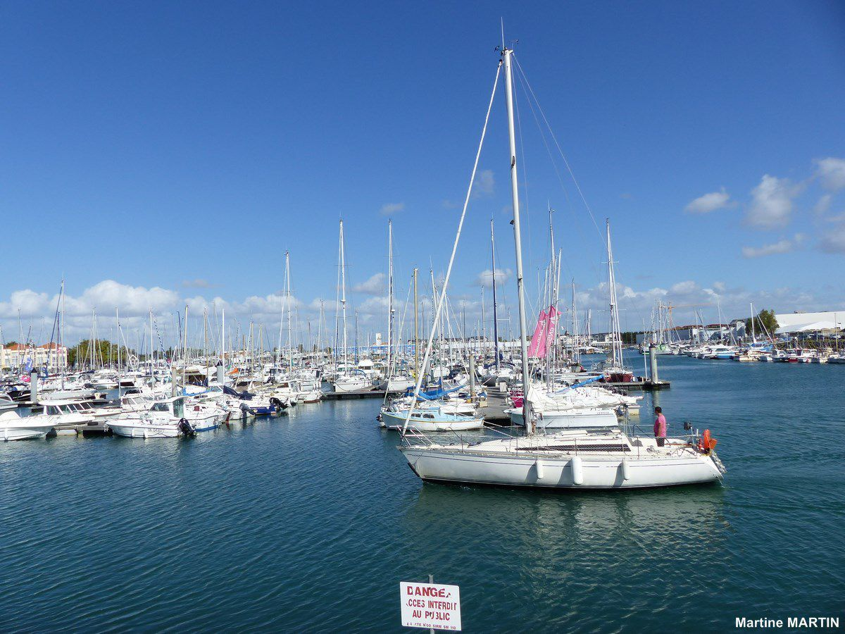 Port Olona avant le Vendée Globe