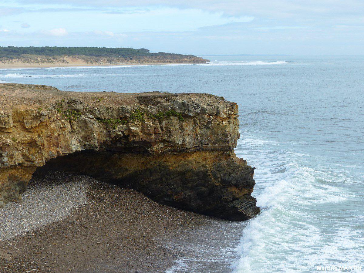 Photos du littoral de la pointe du Payré à Jard sur mer