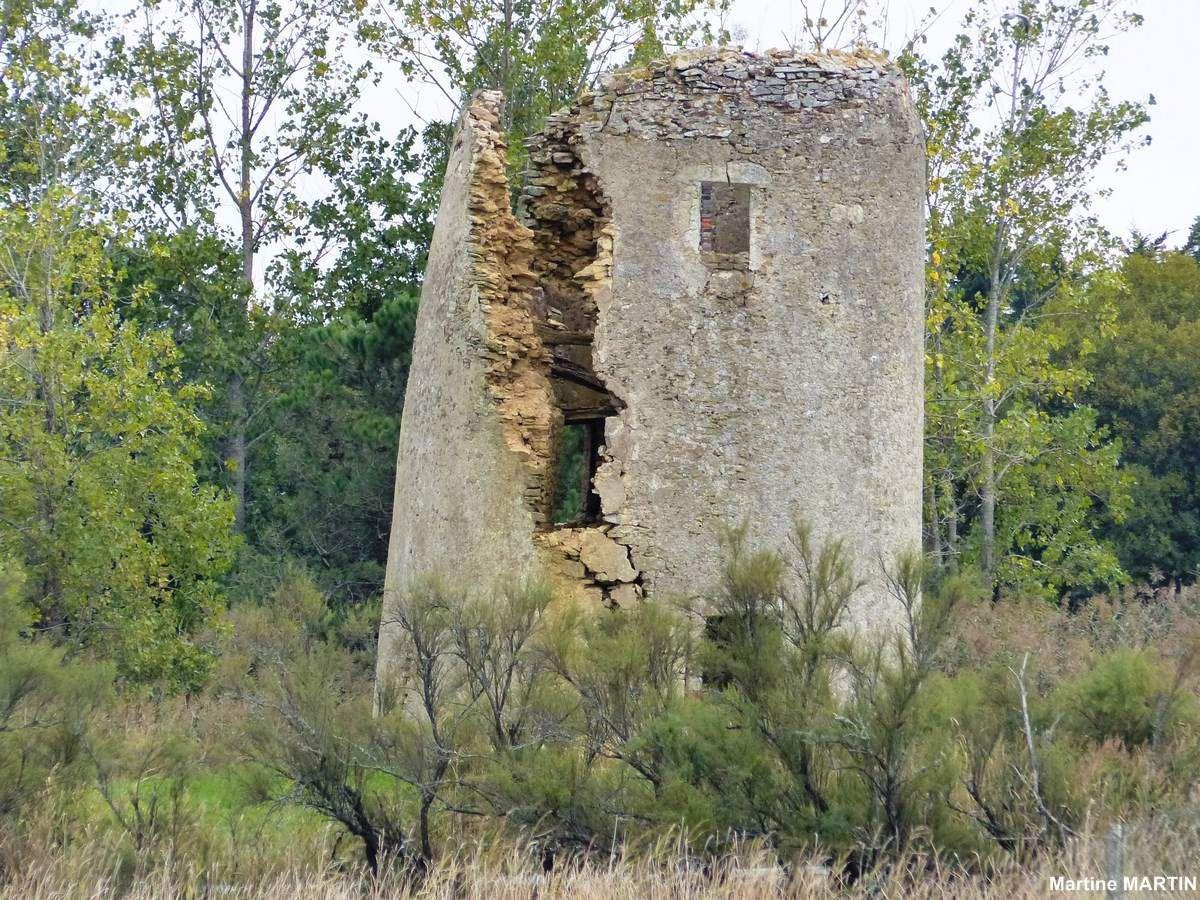 Ruine d'un vieux moulin