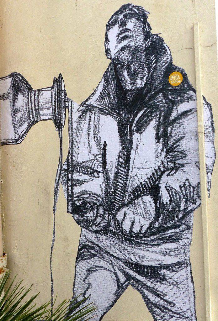 Street art  fresques Vendée Globe aux Sables d'olonne