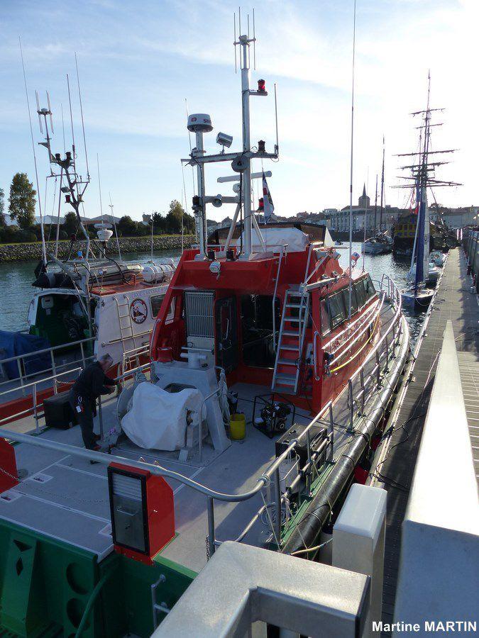 Nouveau bateau de la SNSM aux Sables d'Olonne