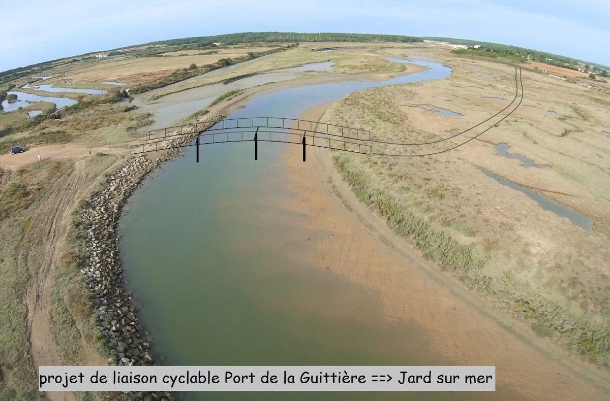 Projet de liaison cyclable entre Talmont Saint-Hilaire et Jard sur mer